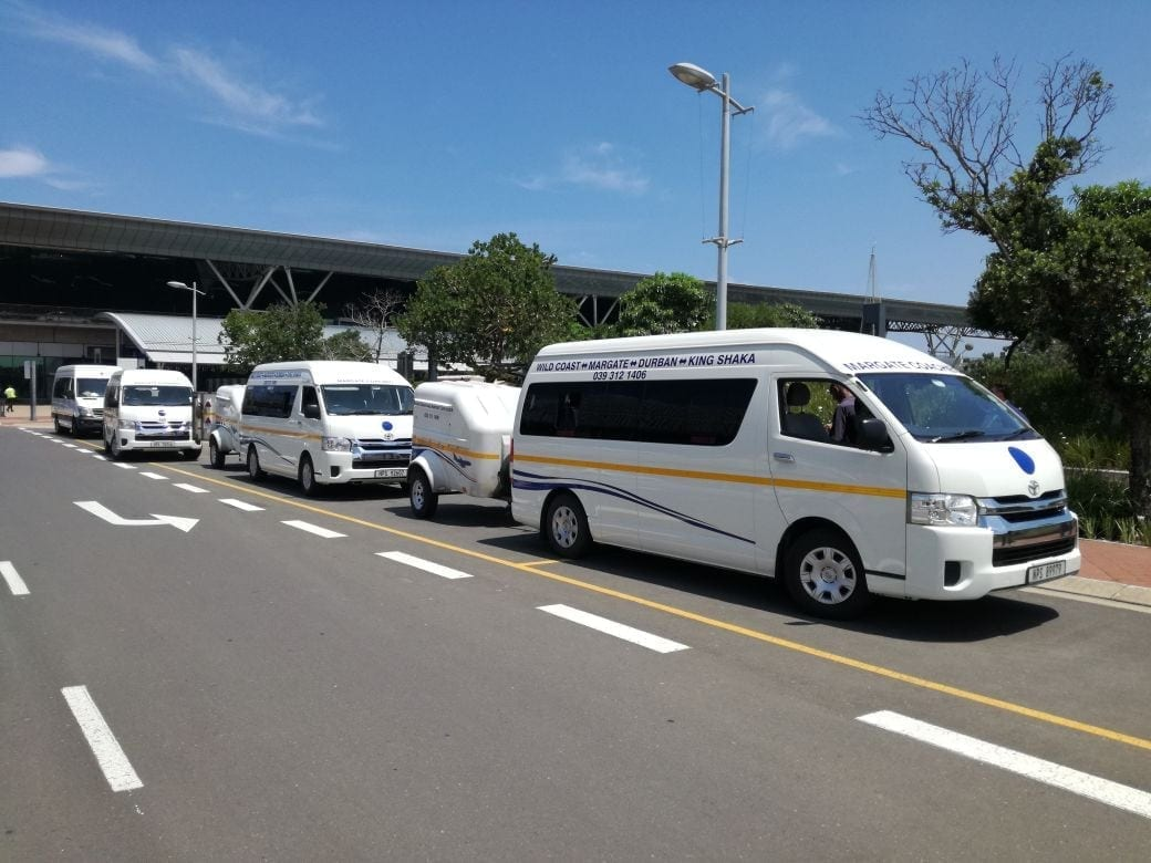 Busses At Durban Airport