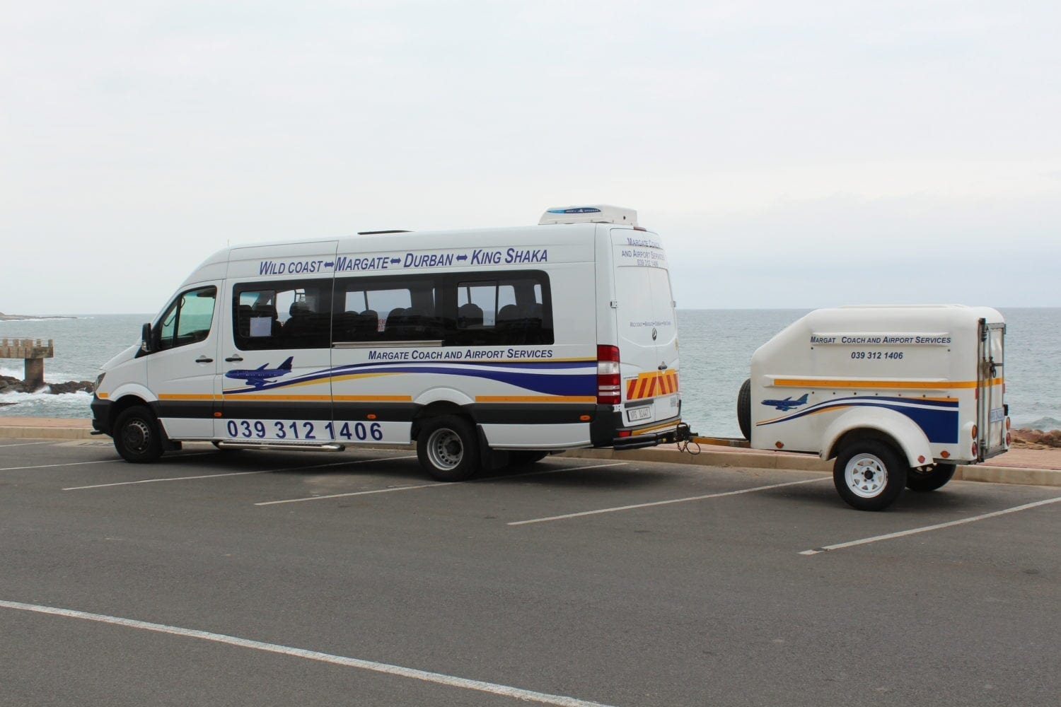 Bus At Margate Beach