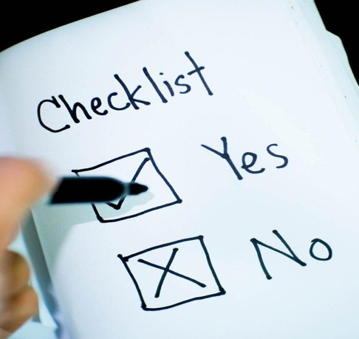checklist article image